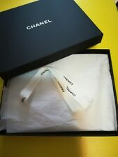 Chanel Scarf Empty Box with Tissue paper and Ribbon for Gift 26 x 20 x 2cm