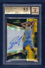 JAMAL MURRAY 2016-17 SELECT GOLD REFRACTOR AUTOGRAPH RC SP # / 10 BGS 9.5 AUTO 9