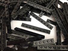 LEGO 3460 - Black 1x8 Plate Brick / 10 Pieces Per Order