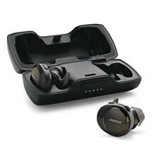 Bose SoundSport WIRELESS Free headphones Bluetooth NFC - Black **INCLUDES CASE**