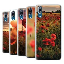 STUFF4 Back Case/Cover/Skin for Huawei P20/Poppies