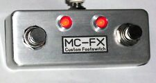 MC-FX Compact Dual Amp Switch - VOX - VFS2A Replacement - Natural Finish