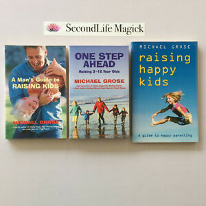 ONE STEP AHEAD - RAISING HAPPY KIDS - MAN'S GUIDE ~ Michael Grose. Parenting. H