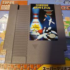 Championship Bowling Nes (Nintendo) Game.
