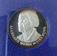 Lindenstrasse Medaille / Münze mit Annemarie Wendl / Else Kling - Requisite Etui