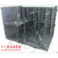10 MECHANICAL CHAIN Machine Nest ACTION BASE for Gundam Transformers ZOIDS Model