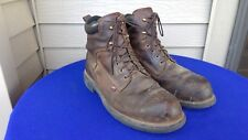 """Vintage Red Wing 415 Work Motorcycle 6"""" Ankle Boots 12 EE Made in USA Nice"""
