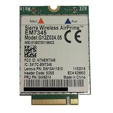 New Genuine ThinkPad Yoga 15 WWAN SIE 7345 M.2 Wireless Card 04X6014