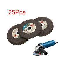 25Pcs 4 Inch Resin Cutting Wheel Grinding Disc Blade For Angle Grinder 16MM Bore
