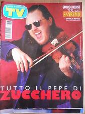 TV Sorrisi e Canzoni n°3 1997 Zucchero Joe Lando Bill Clinton  [D44]