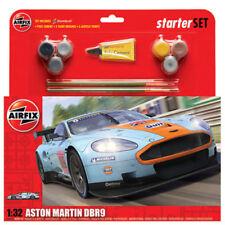 AIRFIX A50110 Aston Martin DBR9 Gulf Starter Gift Set 1:32 Car Model Kit
