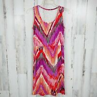 Cato Sleeveless Dress with Pockets Lace Back Women's Size Small