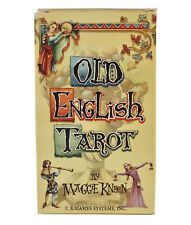 Old English Tarot Deck/Cards - Divination, Spellcraft, Meditation, Magick