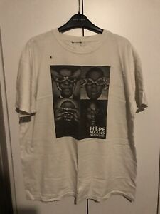 Hype Means Nothing Jay-Z T-shirt, Size Large, Excellent Condition