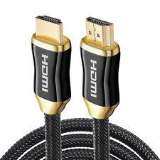 3ft. HDMI 2.0 2.1a Cable Ethernet 3D ARC 1080p 2160p 4k 60Hz HDTV TV-Box UHD PS4