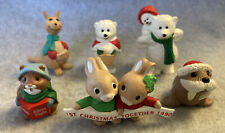 Hallmark 1990 Christmas Merry Miniatures Lot Of 6