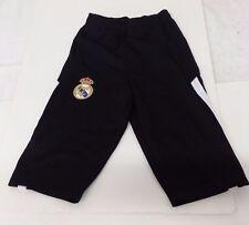 Real Madrid FC Black & White Color Official Licensed Kid's 3/4 Pans Size Large