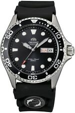 Orient Ray II Mens Automatic Power Reserve 200m Diver Watch FAA02007B9