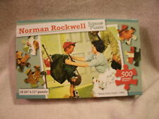 """Norman Rockwell """"Home From Camp"""" (1968) 500 Piece Puzzle"""