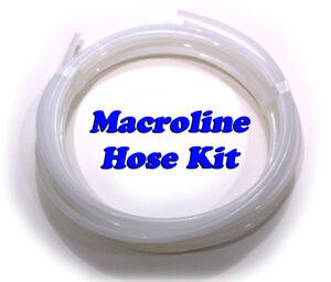 25 ft Clear Macroline for Paintball marker guns - Macro air hose line kit - OEM