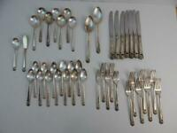 Vintage 1847 Rogers IS Eternally Yours 43 pc Silverware Flatware Set
