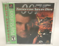 007 Tomorrow Never Dies (Sony PlayStation 1 PS1)  Complete W/ Manual *Great Disc