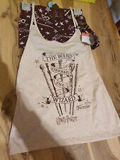 💕💖Harry Potter Wand Chooses Wizard Pyjama Set Vest Top & Shorts Size 10-12 💕