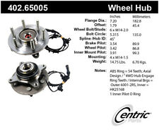 Axle Bearing and Hub Assembly-Premium Hubs Front Centric 402.65005