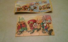 Ferrero Ü-Ei Kinder Createt Looney Tunes Active Puzzle 15-teilig Jahr 2010