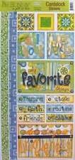 ALL ABOUT ME Scrapbook Stickers and Borders