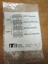 MICRON CONNECTOR CLIPS 61-  .930 CENTER TO CENTER .525  NEW!!