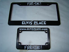 NEW FXR -or- DIE! license plate frames FXLR FXRT FXRD FXRP FXRC Elvis' Place