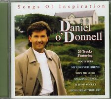 "DANIEL O'DONNELL CD ""Songs Of Inspiration""  20 tracks COUNTRY GOSPEL"