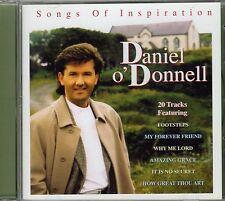 "DANIEL O'DONNELL CD ""Songs Of Inspiration""  20 tracks COUNTRY GOSPEL"