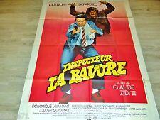 coluche INSPECTEUR LA BAVURE !  affiche cinema