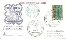 BUSTA FDC ITALIA CAPITOLIUM CORSO PARTICOLARE VIAGGIATA 1974 ORDINI FORENSI ROMA