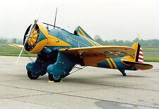 BOEING P-26A PEASHOOTER. Bauplan für ein RC Modell
