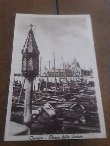 Cartolina Originale 1943 Venezia - Chiesa della Salute