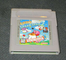 RARE Kirby's Dream Land 2 Not for Resale cart (Nintendo Game Boy)