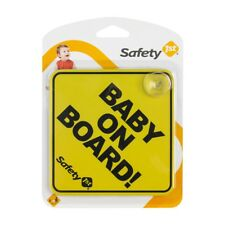 Baby a bordo ventose Parabrezza Finestra Corpo Pannello Auto Safety 1st sign