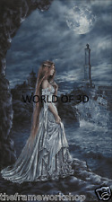 Victoria FRANCES il Blue Lady di Genova - 3d Cult Fantasy foto 300mm x 400mm