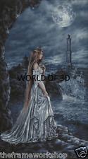 Victoria Frances La Dama Azul de Génova - 3D culto Fantasía imagen 300mm X 400mm