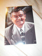 """5""""x7"""" PHOTO CARD_Los Angeles Laker Announcer CHICK HEARN The Voice of the Lakers"""