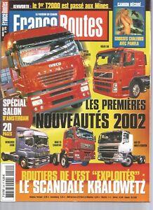 "FRANCE ROUTES N°240 KENWORTHT2000 / CAMION DECORE ""LE PAMELA"" / FREINAGE"