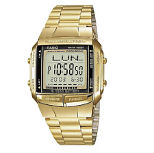 Casio Classic DB360G-9ADF Databank Gold Stainless Steel Watch