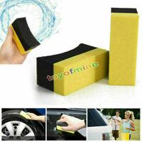 2X Car Professional Tyre Tire Dressing Applicator Curved Foam Sponge Pad