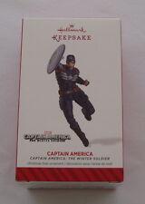 Hallmark 2014 Captain America The Winter Soldier Marvel Super Christmas Ornament