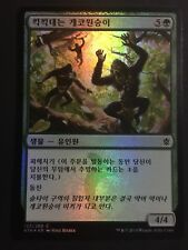 Korean Foil Hooting Mandrills NM Khans Of Tarkir MTG Magic The Gathering