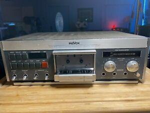 ReVox B 710 MK II For Parts or Repair