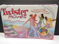 Twister Moves Indoor Dance Activity Game 3 CD's Exclusive Aaron & Nick Carter